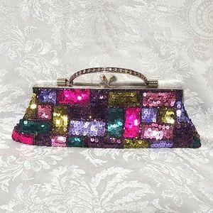 VTG Beaded & Sequins Bag